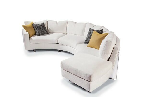 ice clip sectional sofa