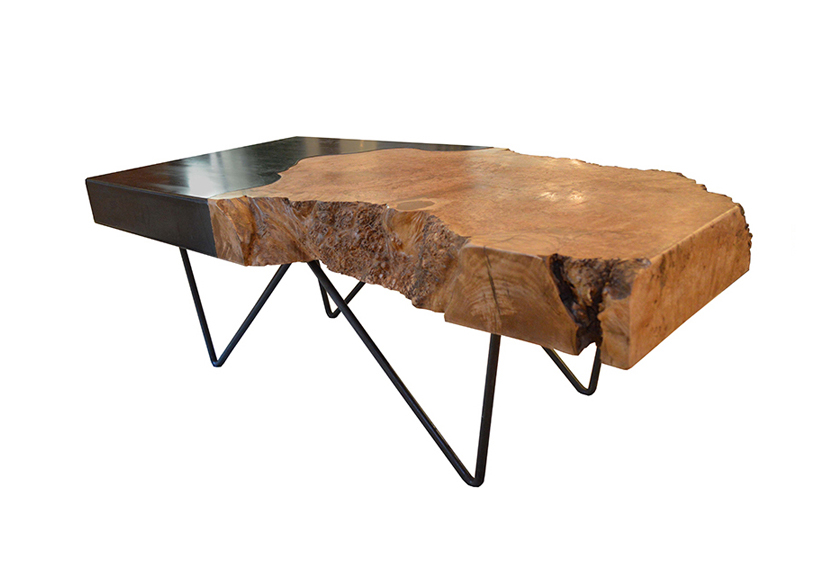 Live Edge Cocktail table