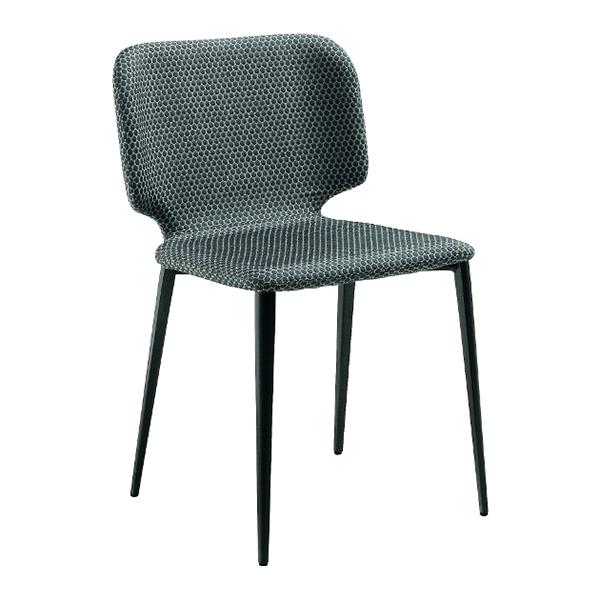 warp side dining chair