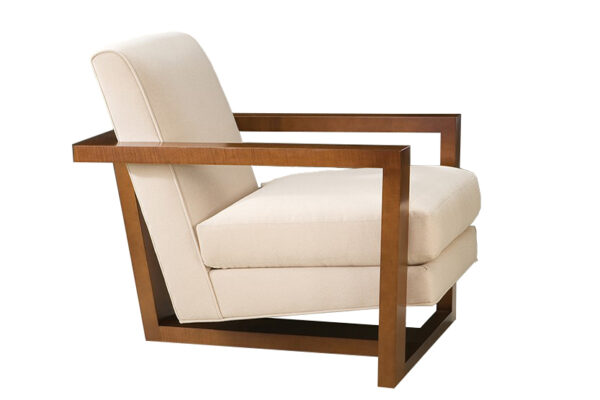 wood roger lounge chair
