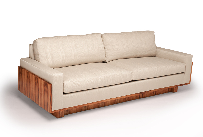 Contempo Wood Sofa