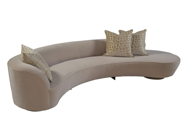 Contemporary Luxury Sofa Arm Kidney by Vladimir Kidney