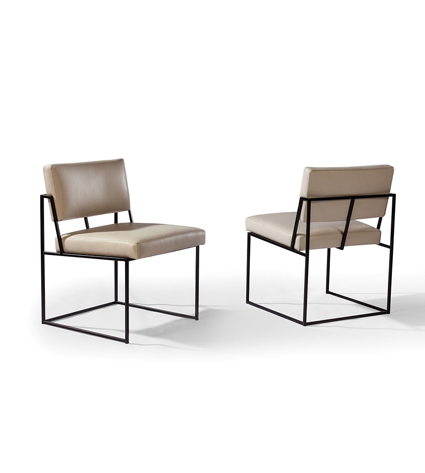 Design Classic Side Chair By Milo Baughman Cliffyoung