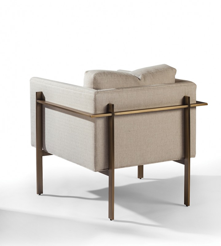 Drop In Lounge Chair By Milo Baughman