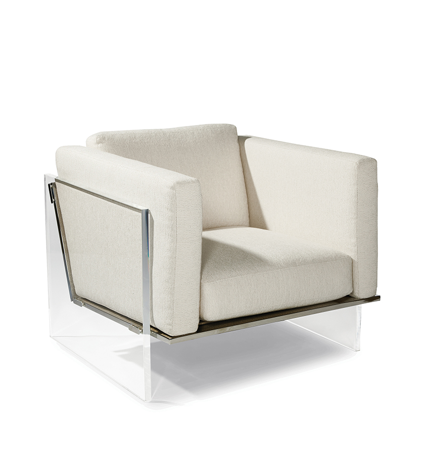 Get Smart Lounge Chair By Milo Baughman Cliffyoung