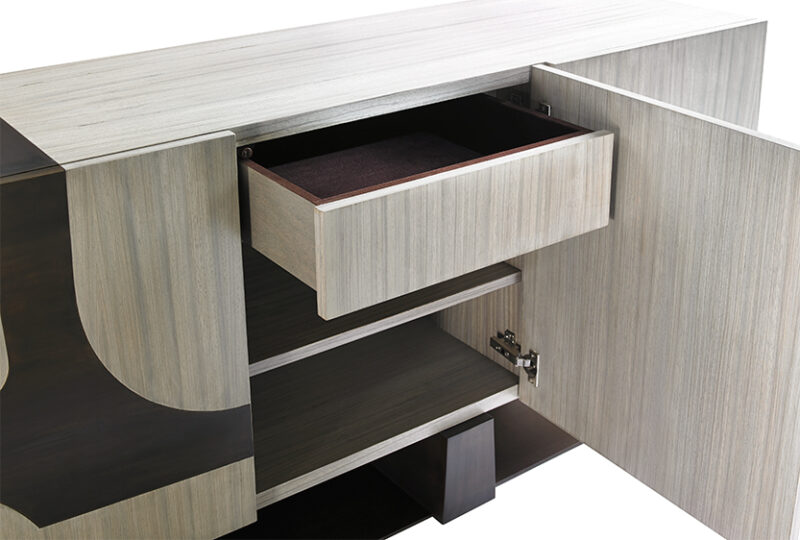 Custom made modern buffet table contemporary furniture ny design center watchthetrailerfo