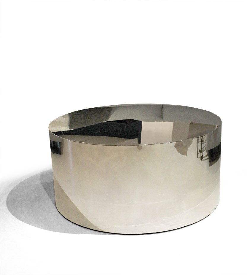 Drum Cocktail Table By Milo Baughman