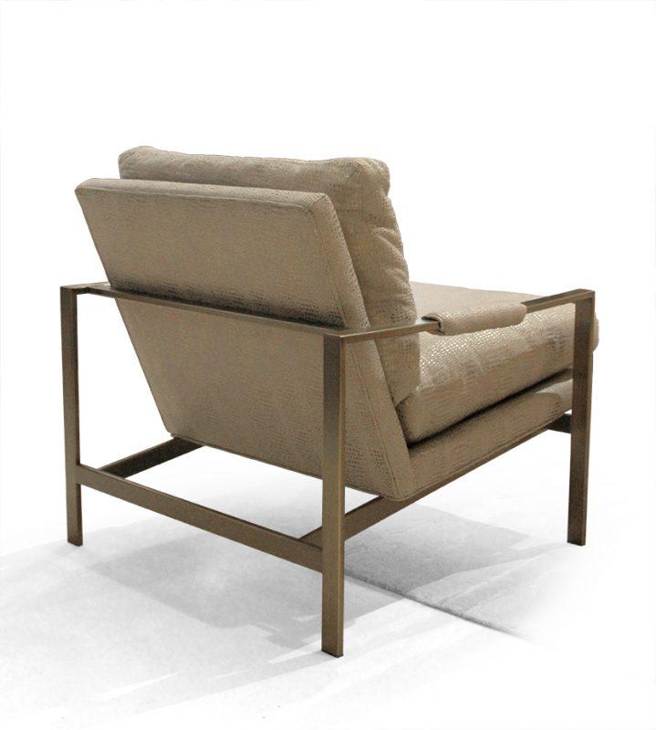 Gentil FS Milo Lounge Chair By Milo Baughman