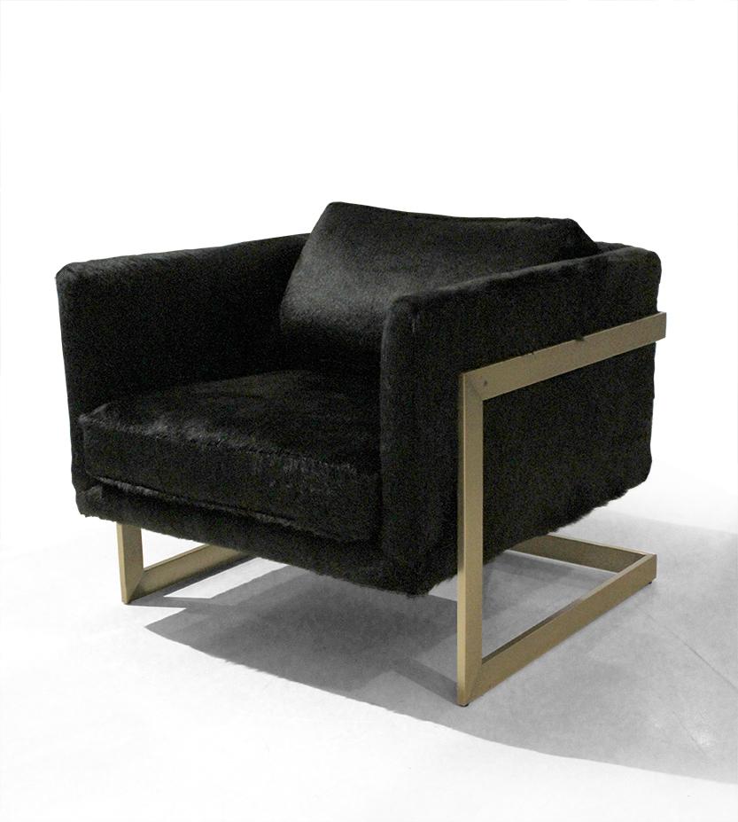 FS T-Back Lounge Chair by Milo Baughman