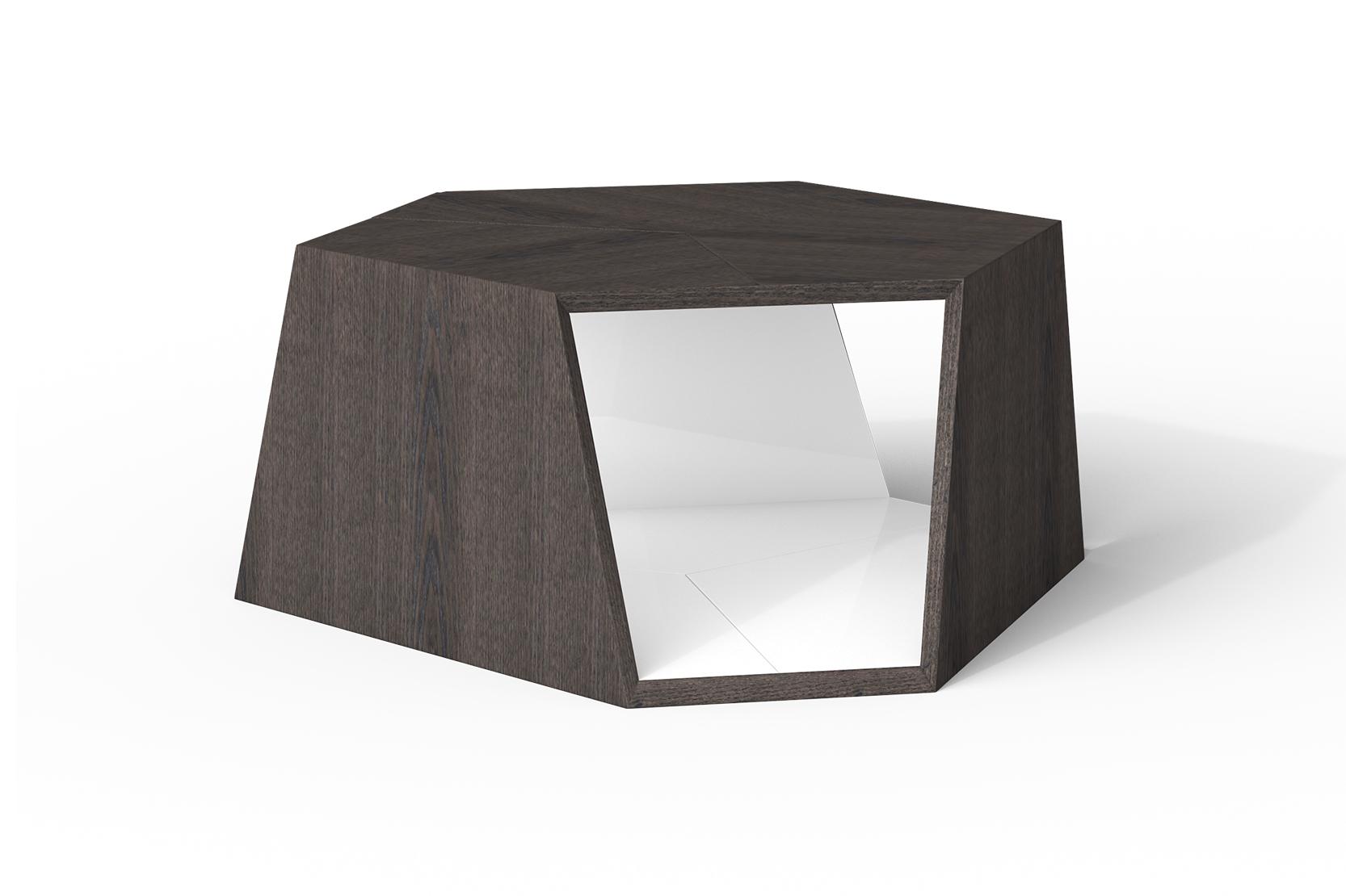 cy wood tesla cocktail table