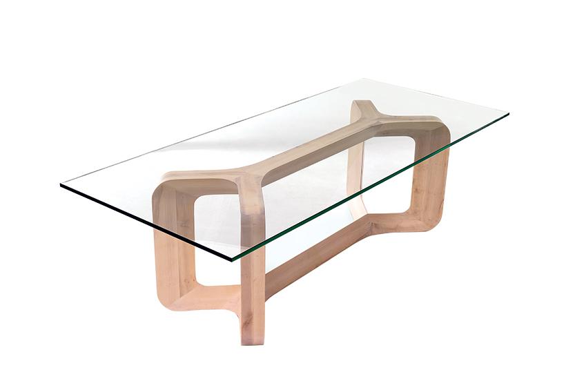axis medium rectangular dining table