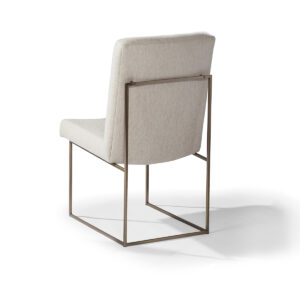 design classic 1187 armless dining chair (bronze)