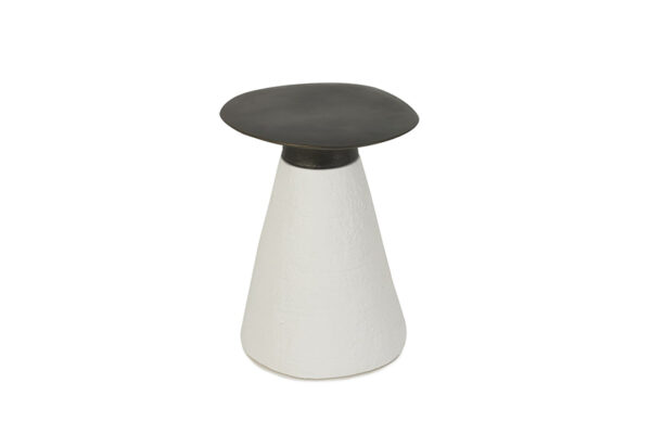 coral side table