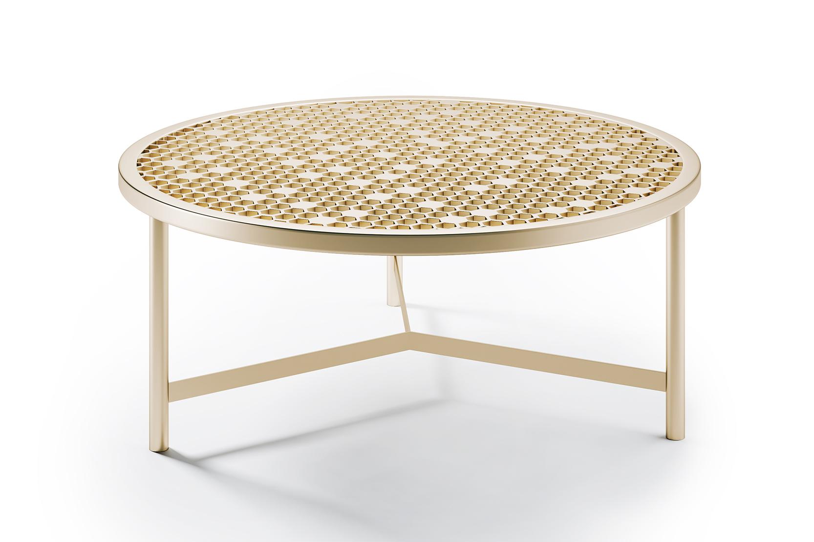 nido mesh top nesting table