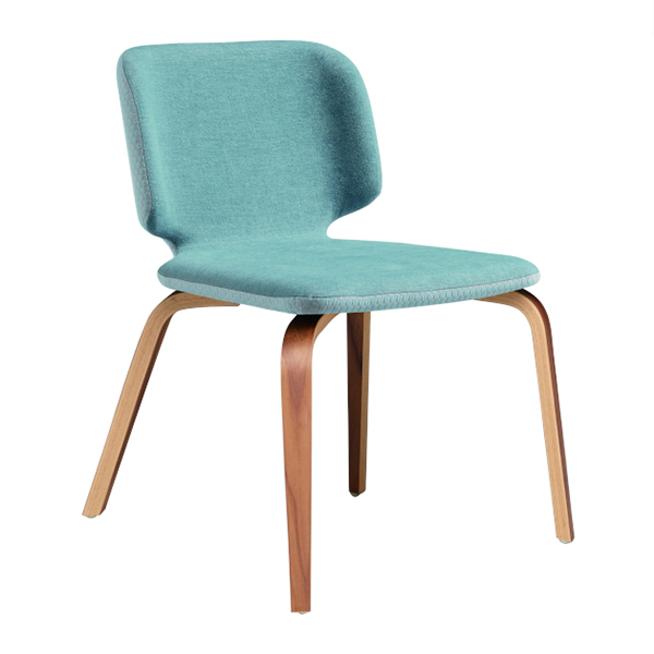 warp wood dining chair