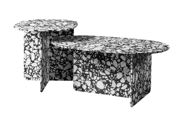 Chappy Coffee Tables: High and Low