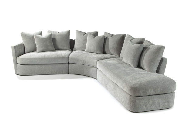 no right angles sectional