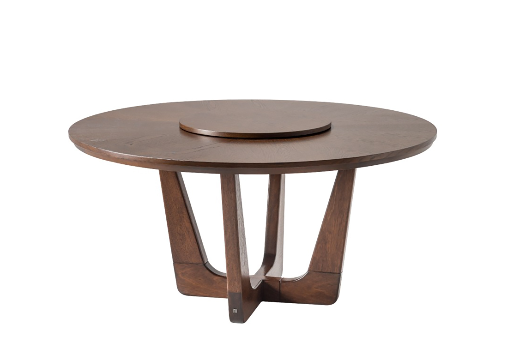 lazy susan rumba dining table