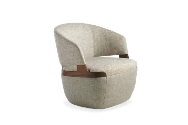 velis swivel armchair