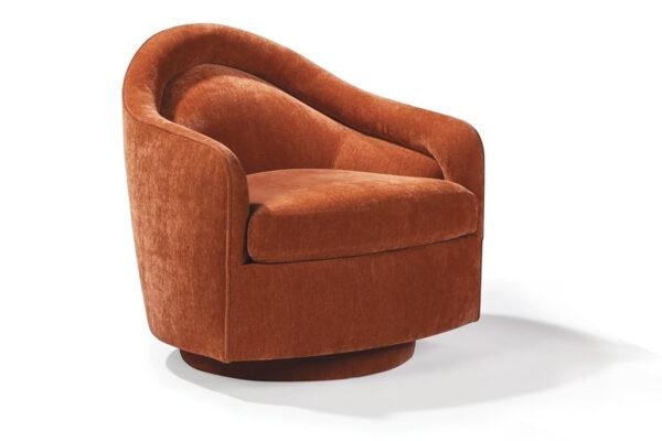 tear drop swivel-tilt chair